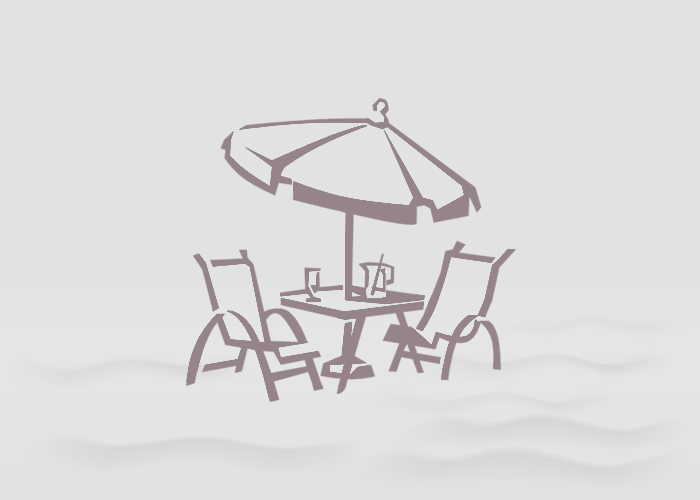 """Embossed Commercial Aluminum 48"""" Round Dining Table with hole by Telescope Casual"""