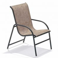 Oasis Commercial Nesting Sling Dining Chair by Texacraft